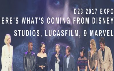 D23 2017: Here's what's coming from Disney Studios, Lucasfilm, & Marvel