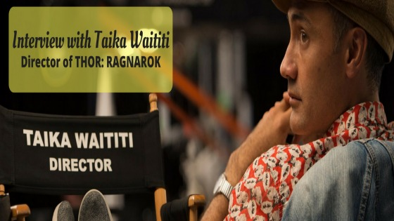 Interview with Taika Waititi, Director of THOR: RAGNAROK