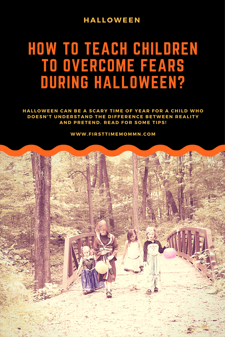 How to teach children to overcome fears during Halloween