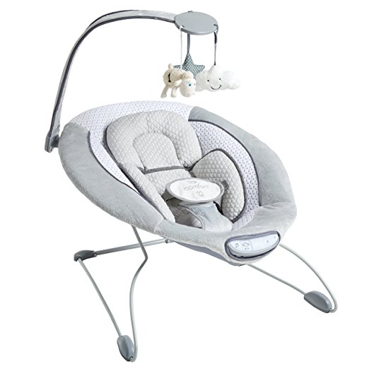 Serta I-Comfort Premium Infant Bouncer, Grey