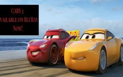 CARS 3 is Available on BluRay Now! Spoiler Alert, You're Gonna Want to Buy It.