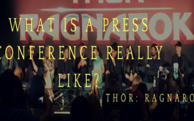 THOR: RAGNAROK – What is a press conference really like?