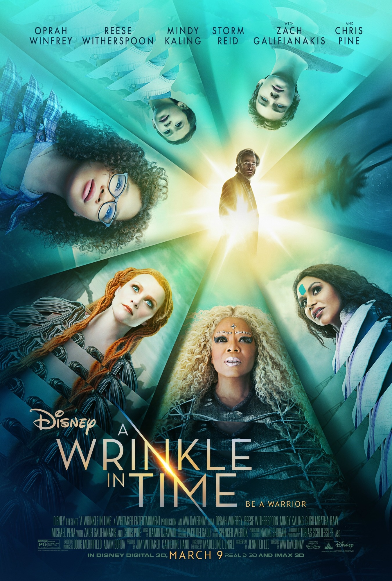 Good Reads While You're Breastfeeding: A WRINKLE IN TIME