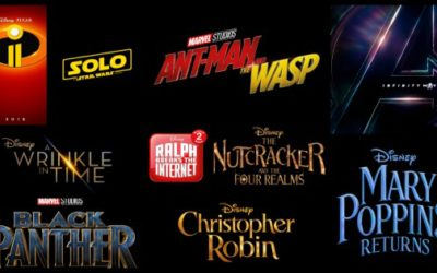 Here's what to look forward to from Disney Studios in 2018!