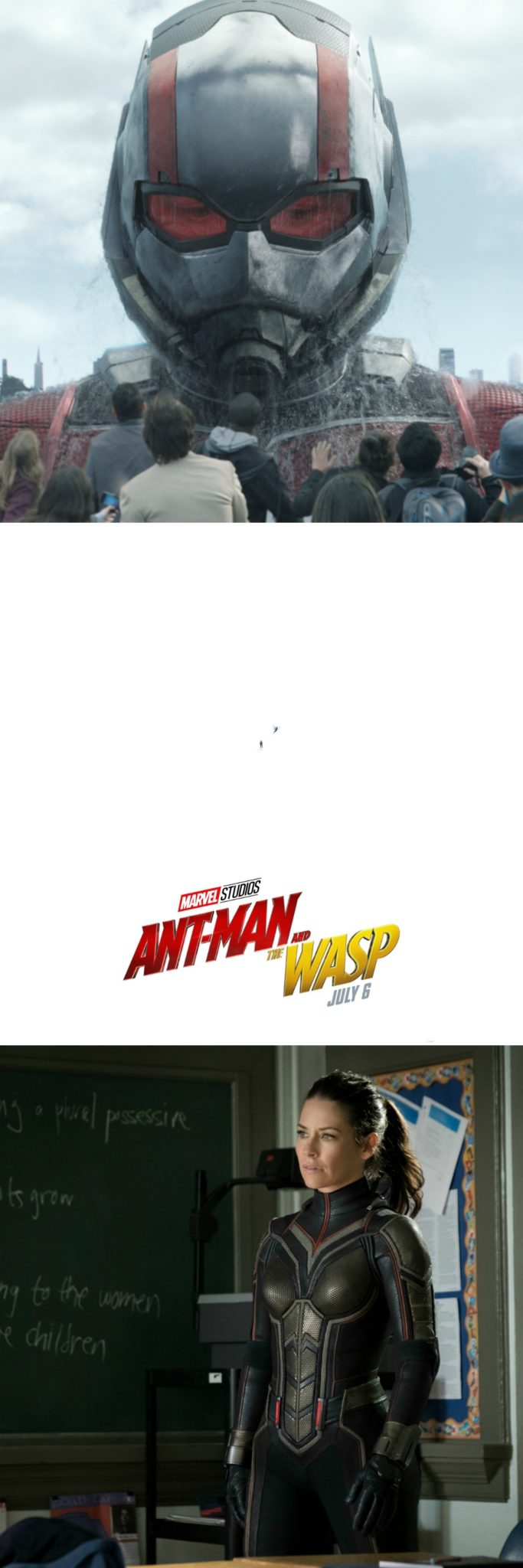 ANT-MAN AND THE WASP trailer released and new teaser poster. Coming to theaters everywhere on July 6th!