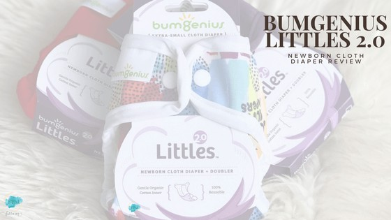 Read all about the bumGenius newborn diaper, Littles 2.0 in this review. Featured