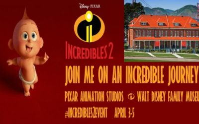 Join me on an INCREDIBLE Adventure to Pixar Studios! INCREDIBLES 2 Early Press Days Event