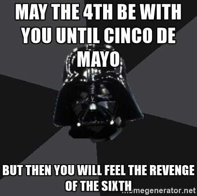 May the Fourth Be With You Meme