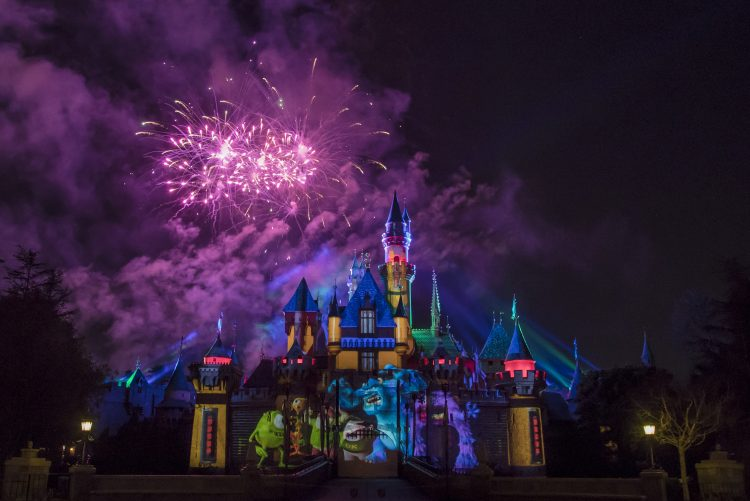 """Together Forever"" – A Pixar Nighttime Spectacular Fireworks Display"