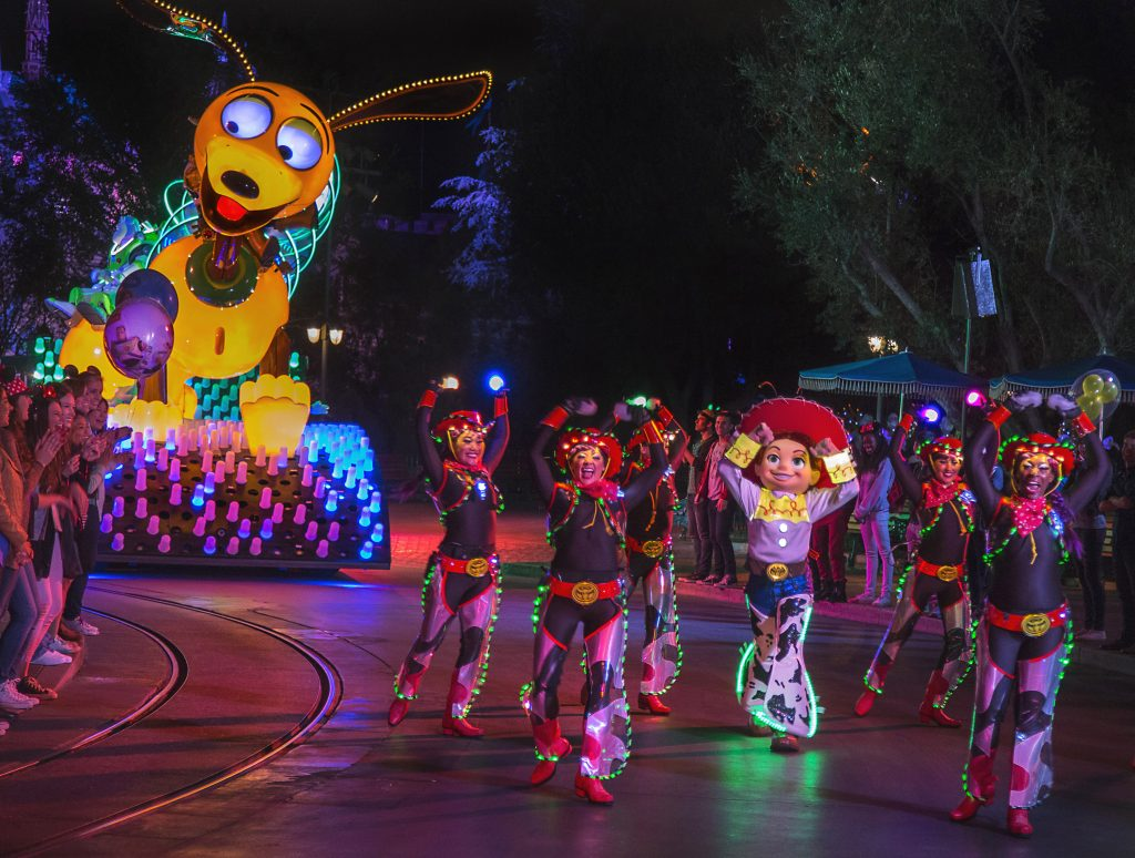 """You've Got a Friend in Me"" – ""Toy Story"" Paint the Night Float"
