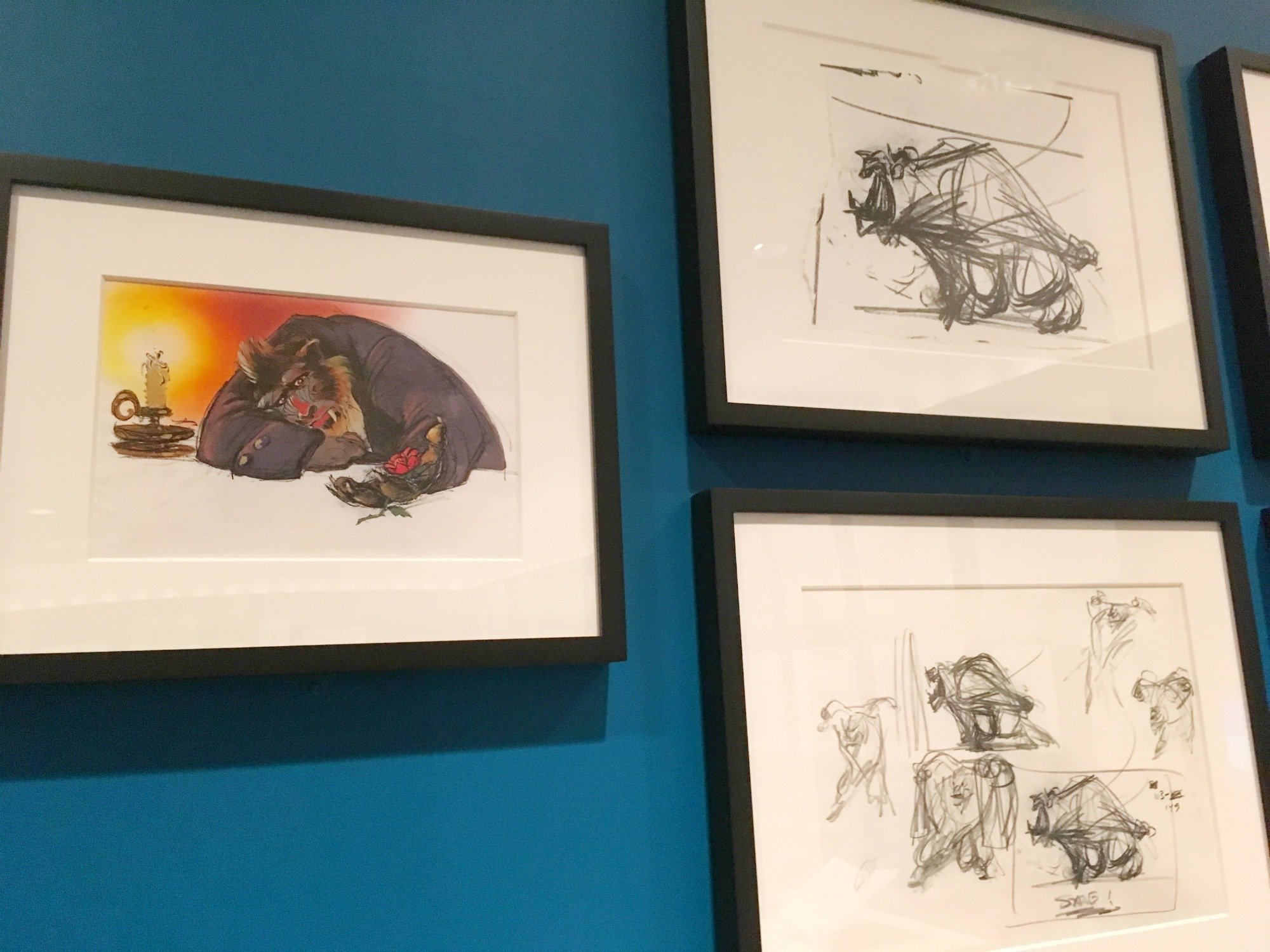 Artwork of Glen Keane, Walt Disney Family Museum