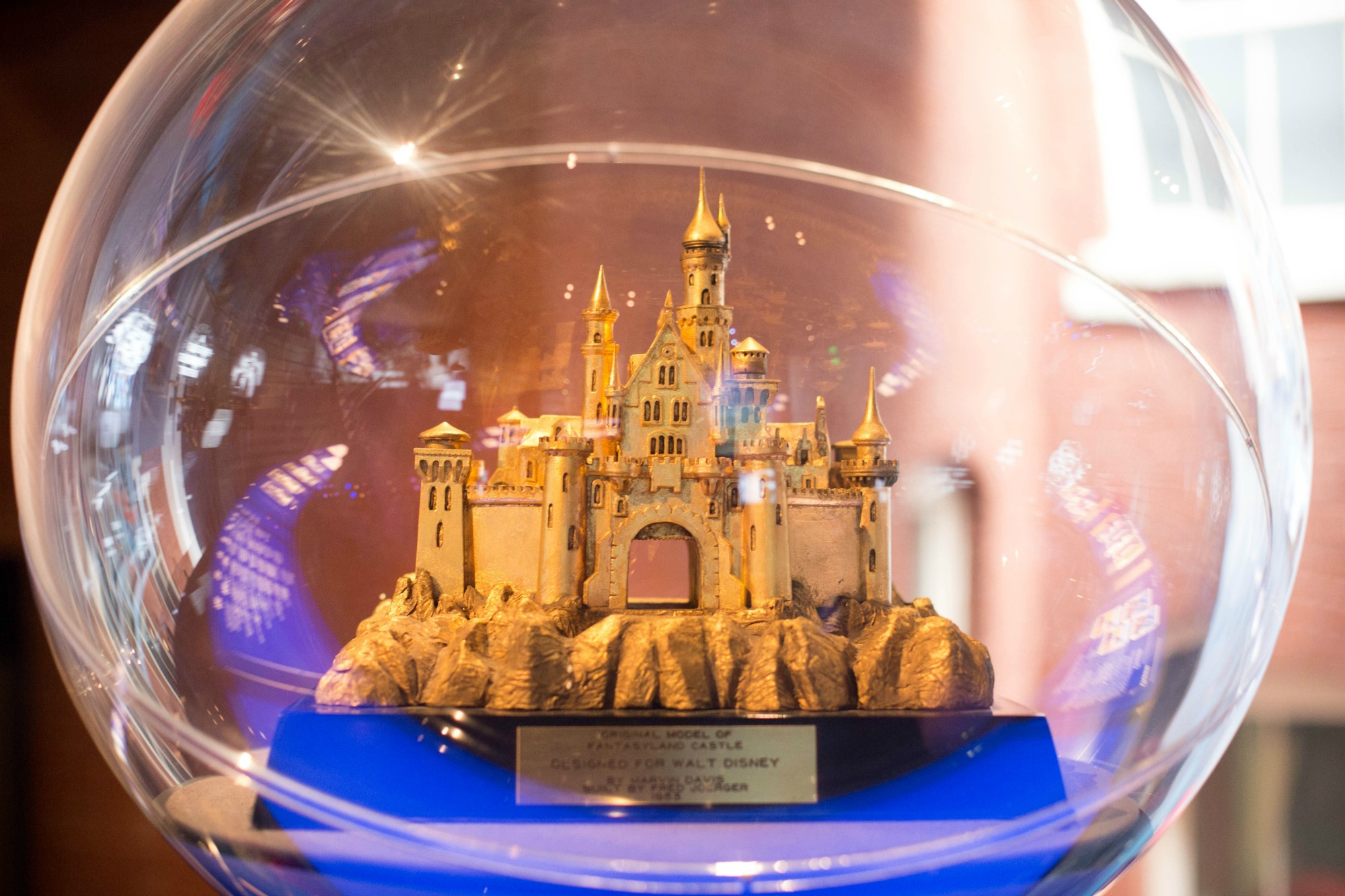 Sleeping Beauty's Castle, Walt Disney Family Museum