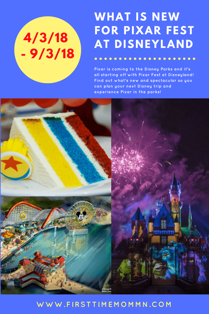 What is new for PIXAR FEST at Disneyland? Pixar is coming to the Disney Parks and it's all starting off with Pixar Fest at Disneyland! Find out what's new and spectacular so you can plan your next Disney trip and experience Pixar in the parks!