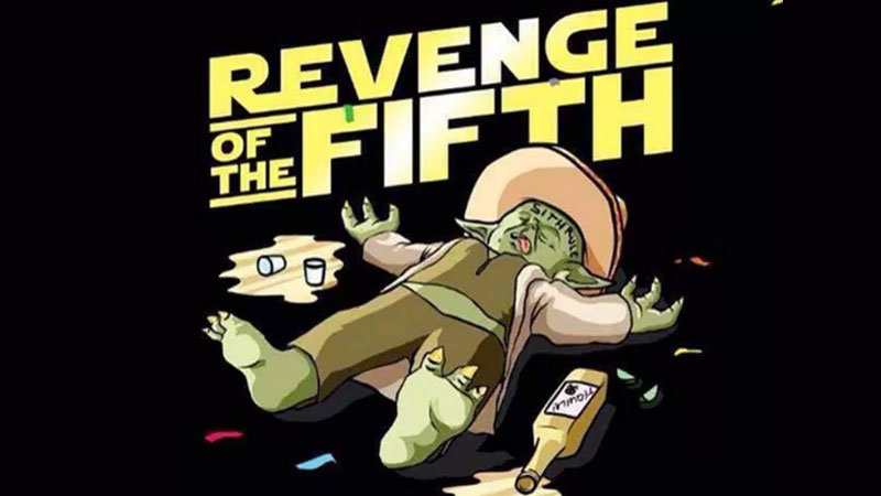 Illustration of Yoda for Revenge of the Fifth, May the 4th Star Wars memes