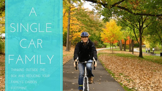 single car family REDUCING YOUR FAMILY'S CARBON FOOTPRINT