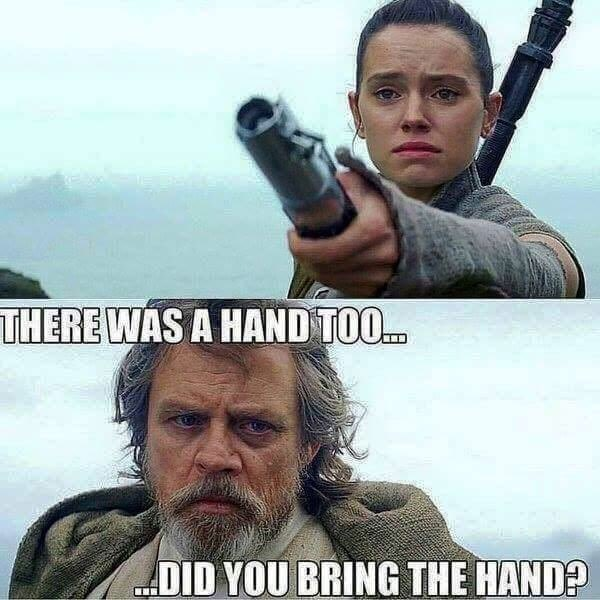 Rey and Luke Meme May the Fourth