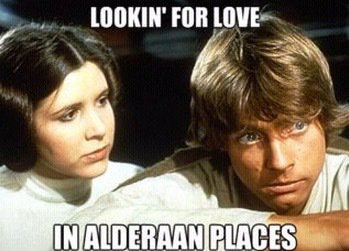 Looking for love May the Fourth memes