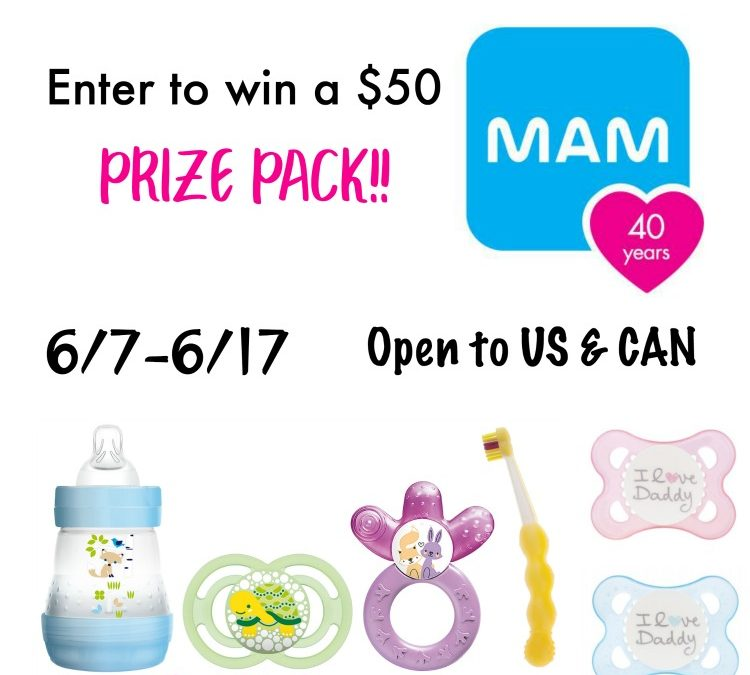 Father's Day $50 MAM Giveaway Prize Pack (6/7 – 6/17) Open US & CAN