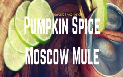 Low-Carb Cocktail – The Crisp Pumpkin Spice Moscow Mule