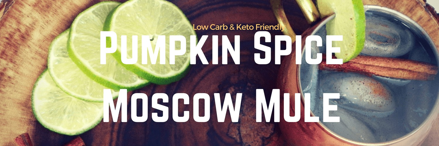 Low Carb & Keto Friendly Pumpkin Spice Moscow Mule