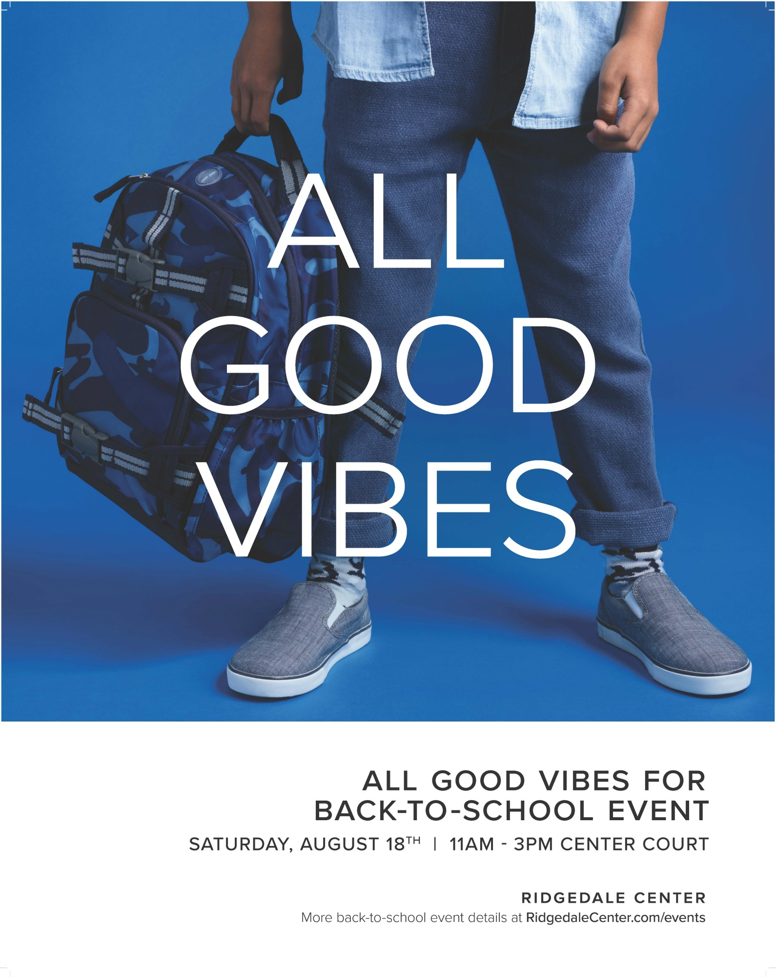 Back to School free family event at Ridgedale Center