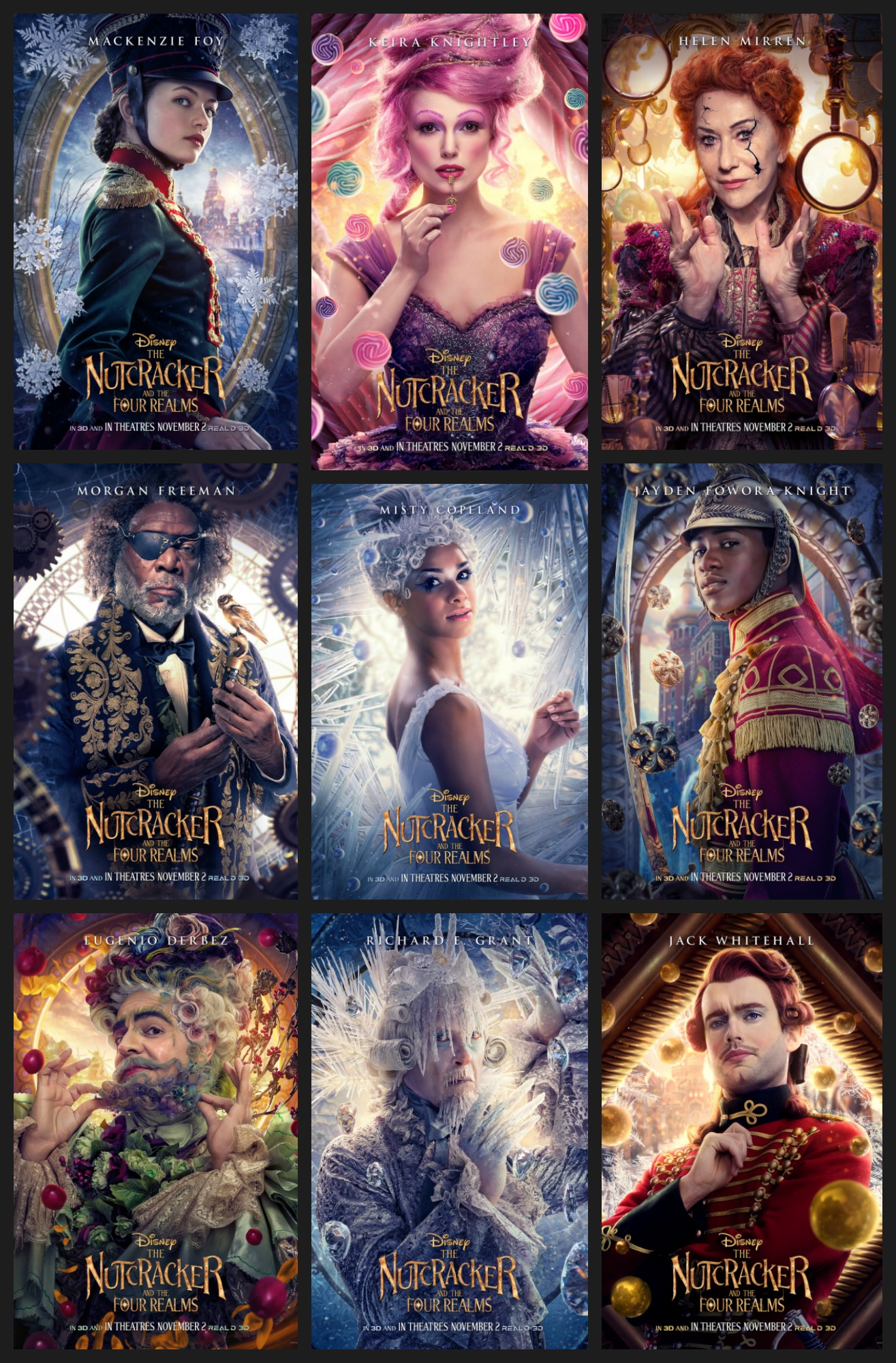 Character Posters The Nutcracker and the Four Realms