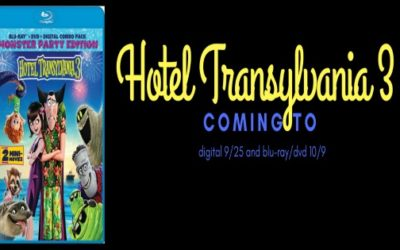 HOTEL TRANSYLVANIA 3 comes to digital 9/25 and Blu-Ray/DVD on 10/9