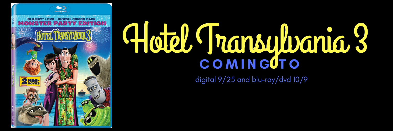 HOTEL TRANSYLVANIA 3 coming to digital 925 and blu-ray 109