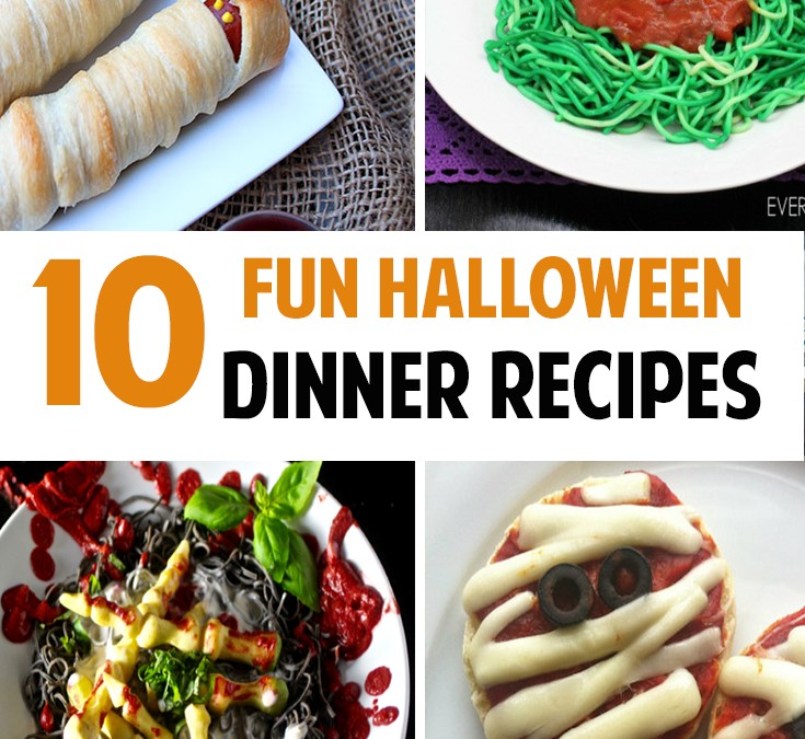 All the Spooky Dinners You Could Ever Want: 10 Fun Halloween Dinner Ideas