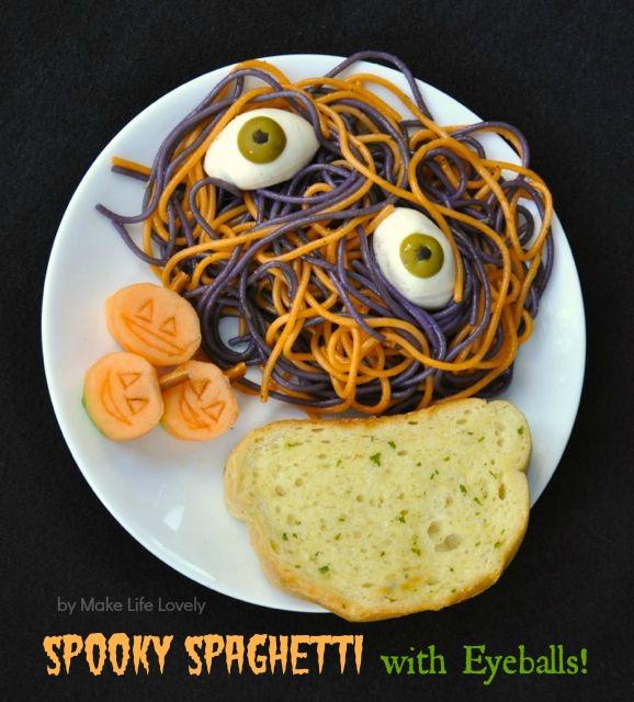 Halloween Dinner Ideas Spooky Spaghetti