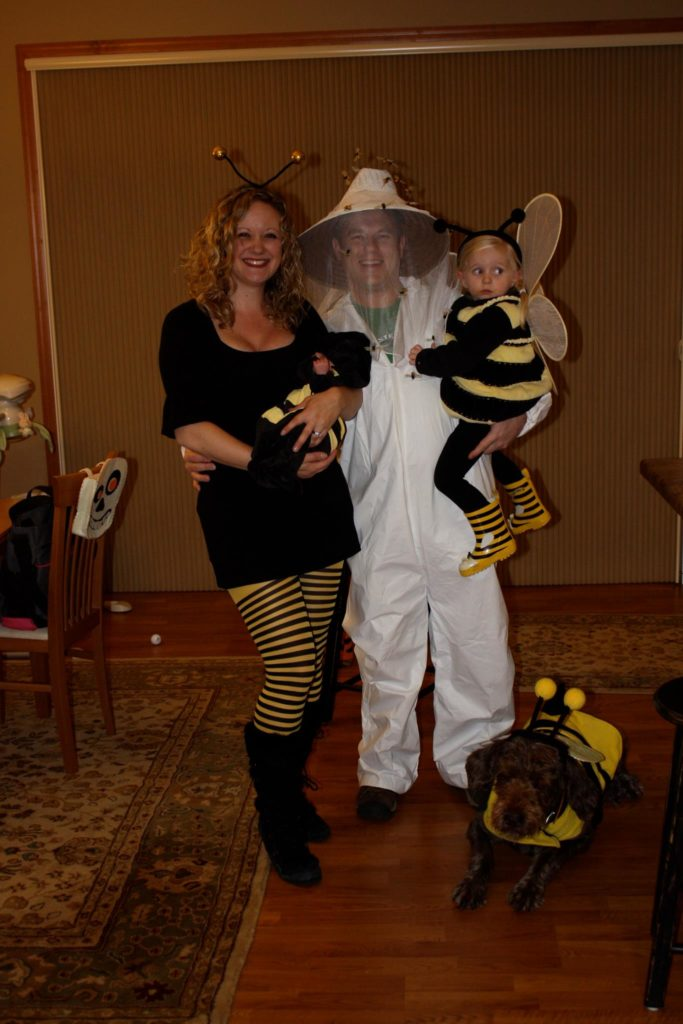 Bee Keeper Family Halloween Costumes for Moms