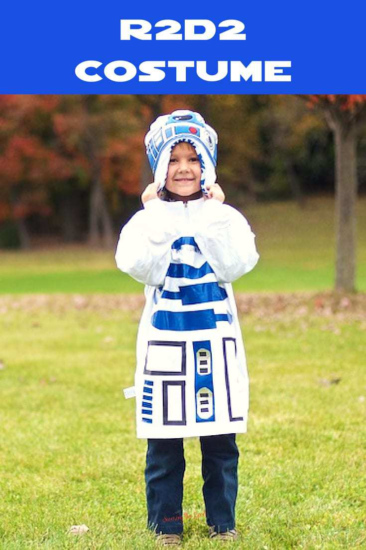 Star Wars R2-D2 costume for mom