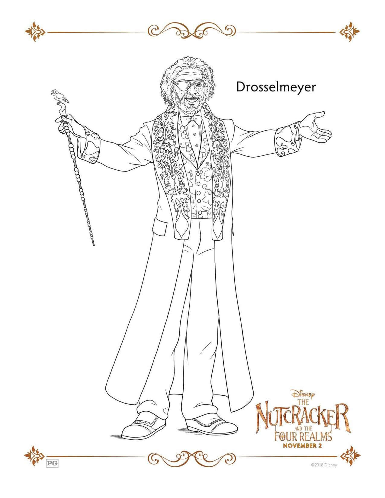 Drosselmeyer THE NUTCRACKER AND THE FOUR REALMS