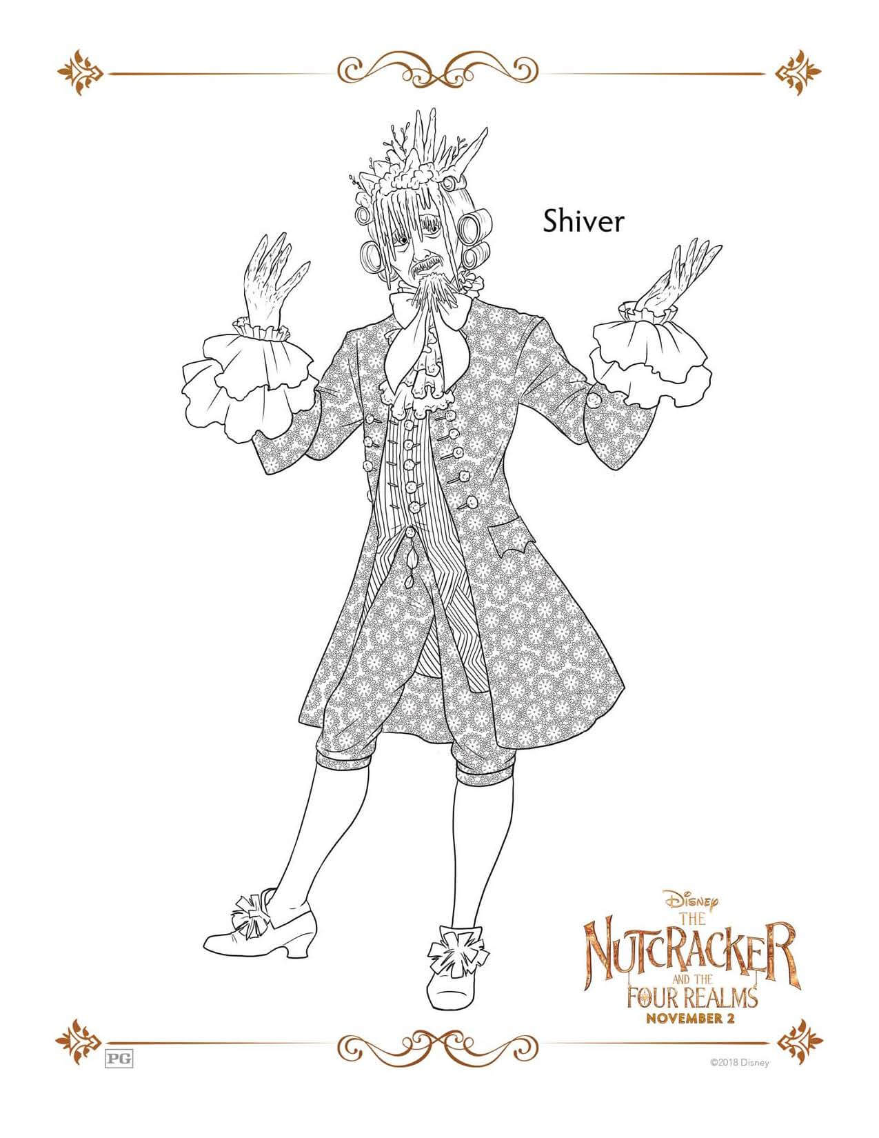Shiver from THE NUTCRACKER AND THE FOUR REALMS