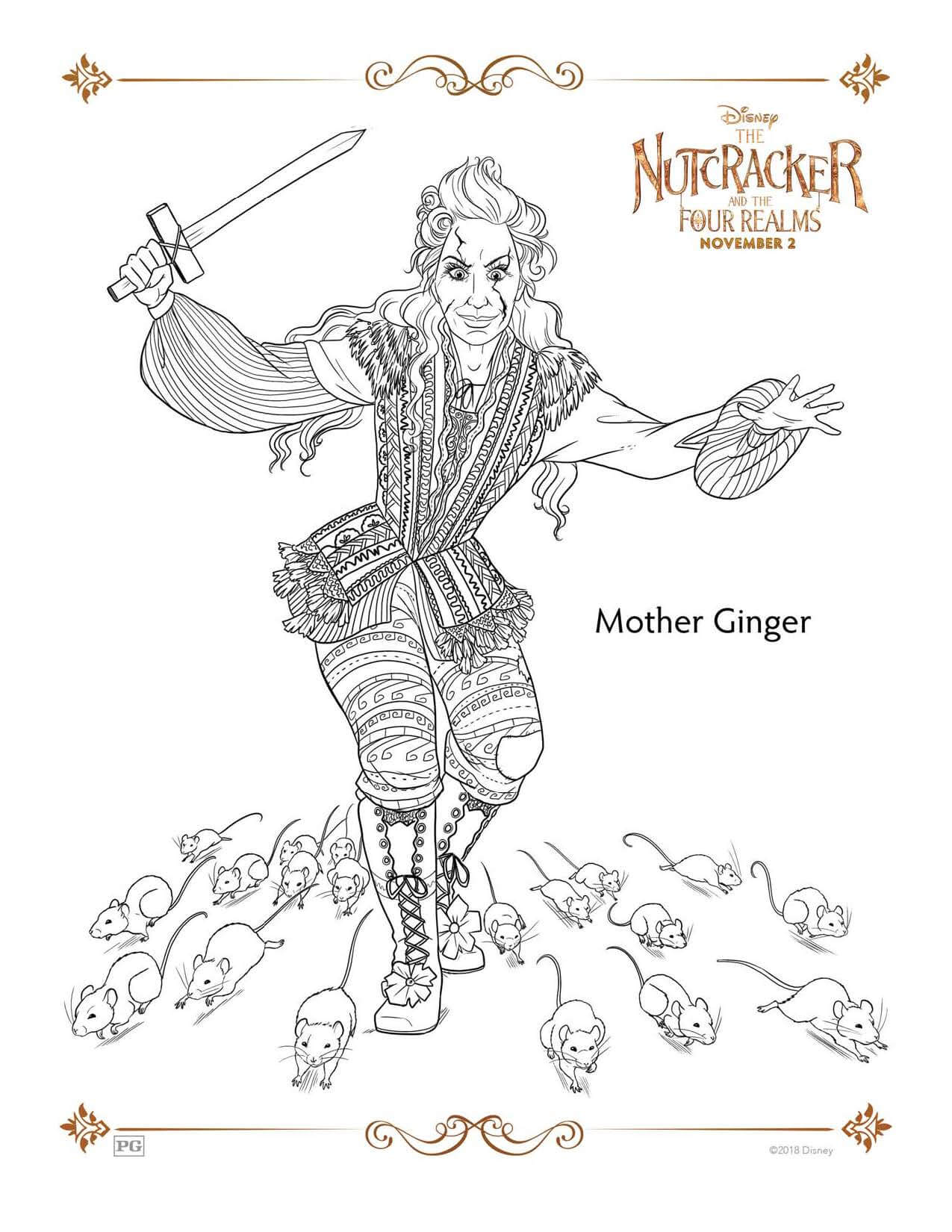 Mother Ginger THE NUTCRACKER AND THE FOUR REALMS