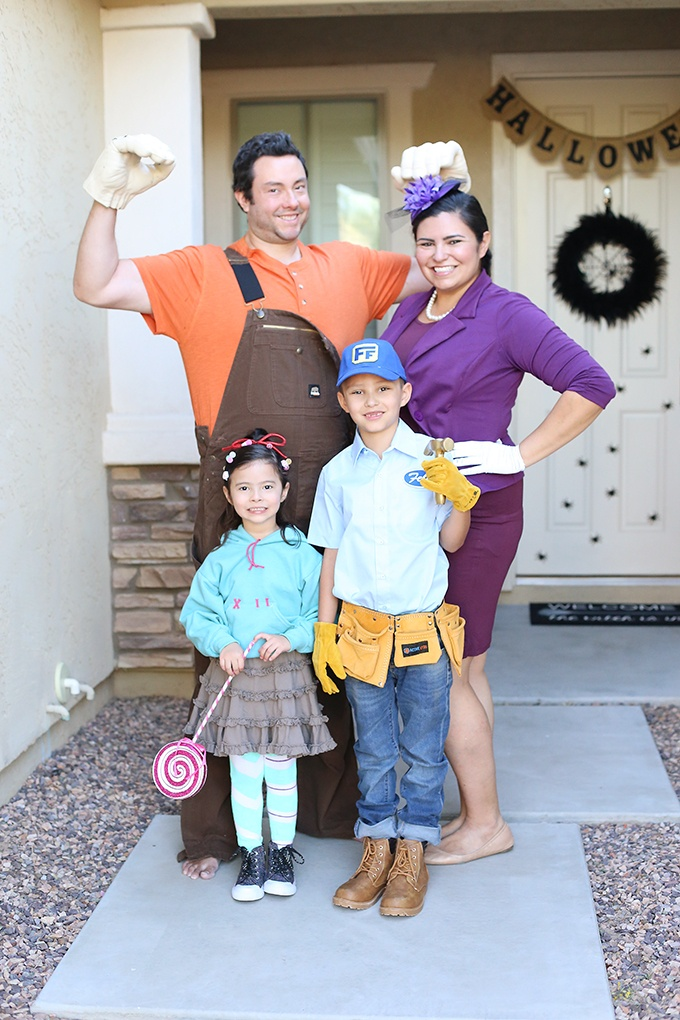 Wreck It Ralph Halloween Costume for mom