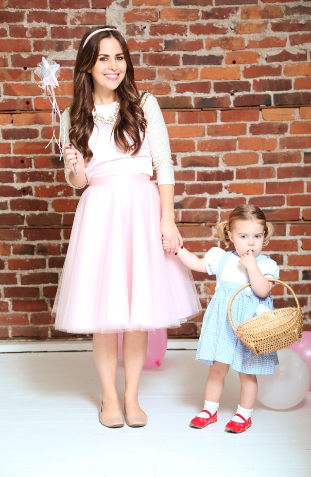 Glenda the Good Witch Halloween Costume for Moms