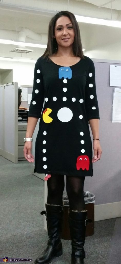 Mrs Pacman Game Costume