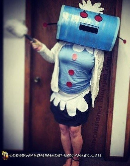 Rosie the Robot Halloween costume for mom