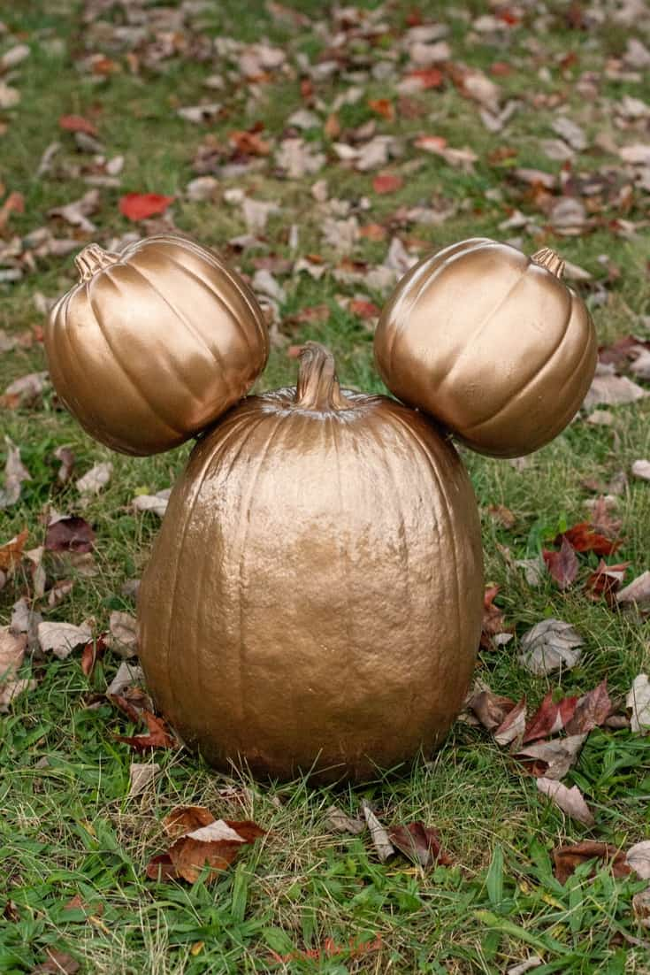 Disney inspired pumpkin carvings