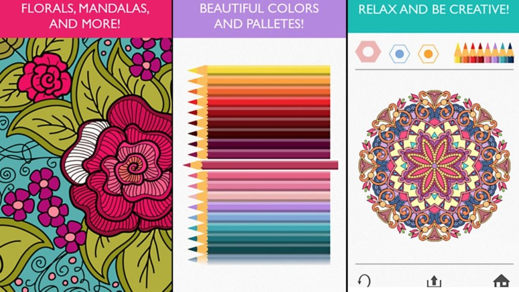 Screenshot Colorfy app free apps to help you relax