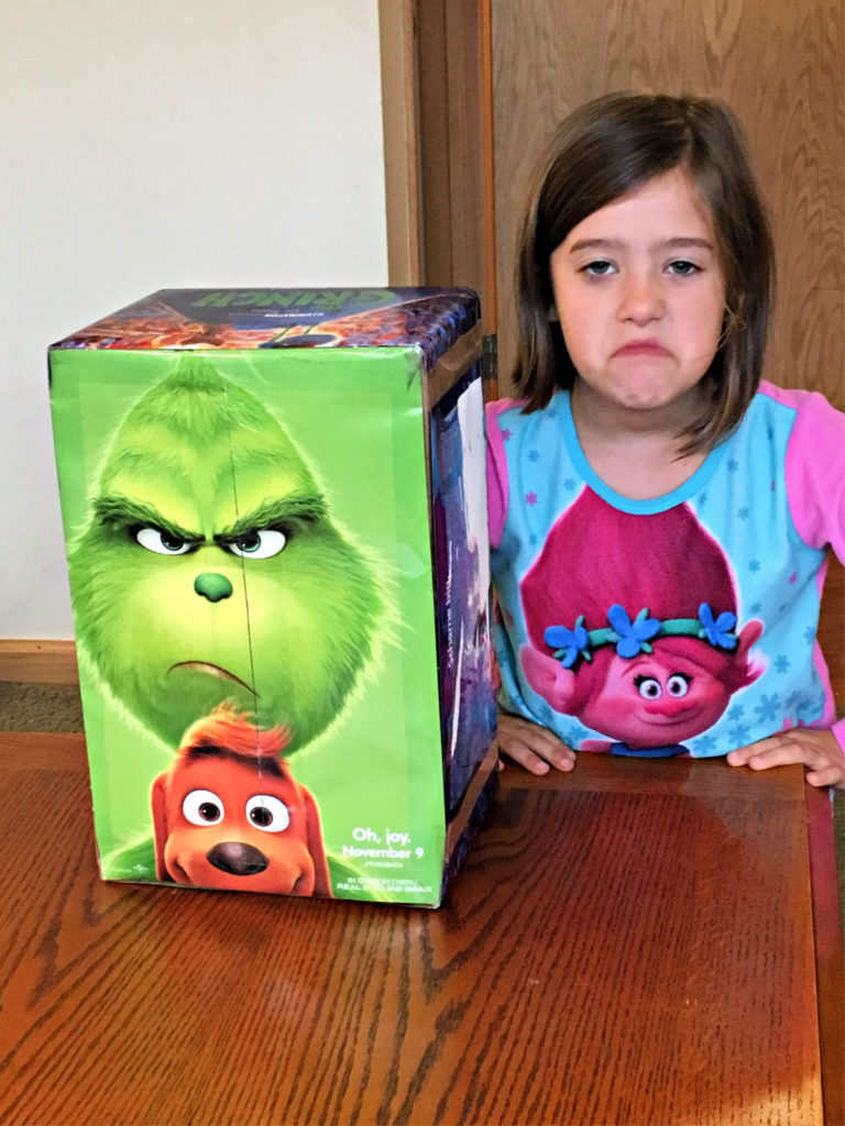 Kendall Grinch Face