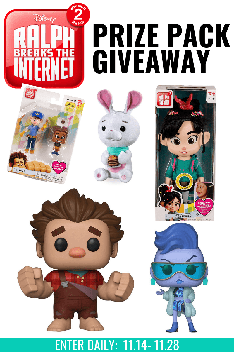 Ralph Breaks The Internet Group Giveaway