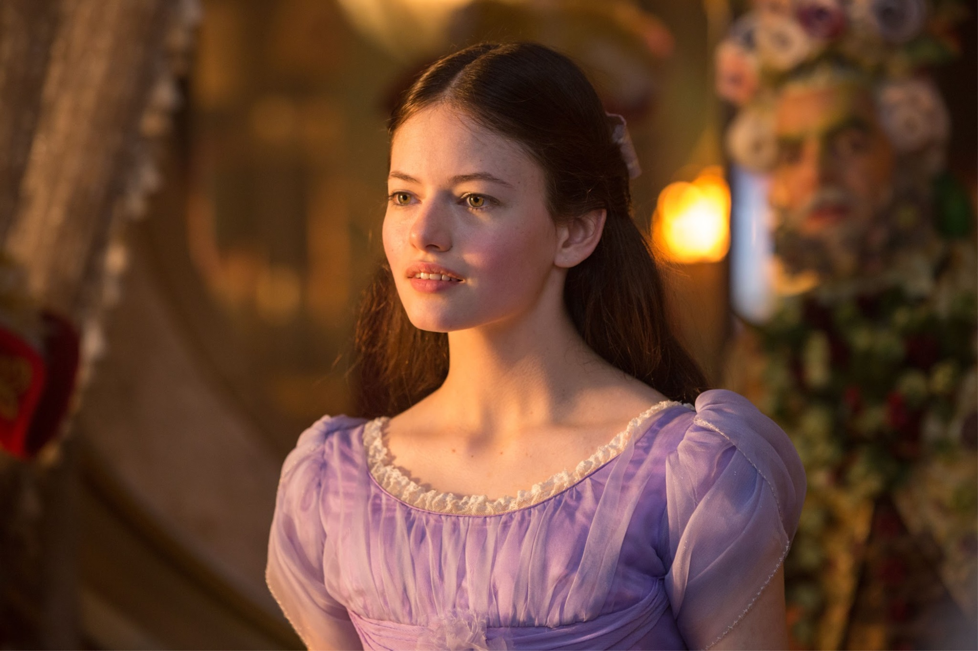 Mackenzie Foy is Clara in Disney's THE NUTCRACKER AND THE FOUR REALMS.