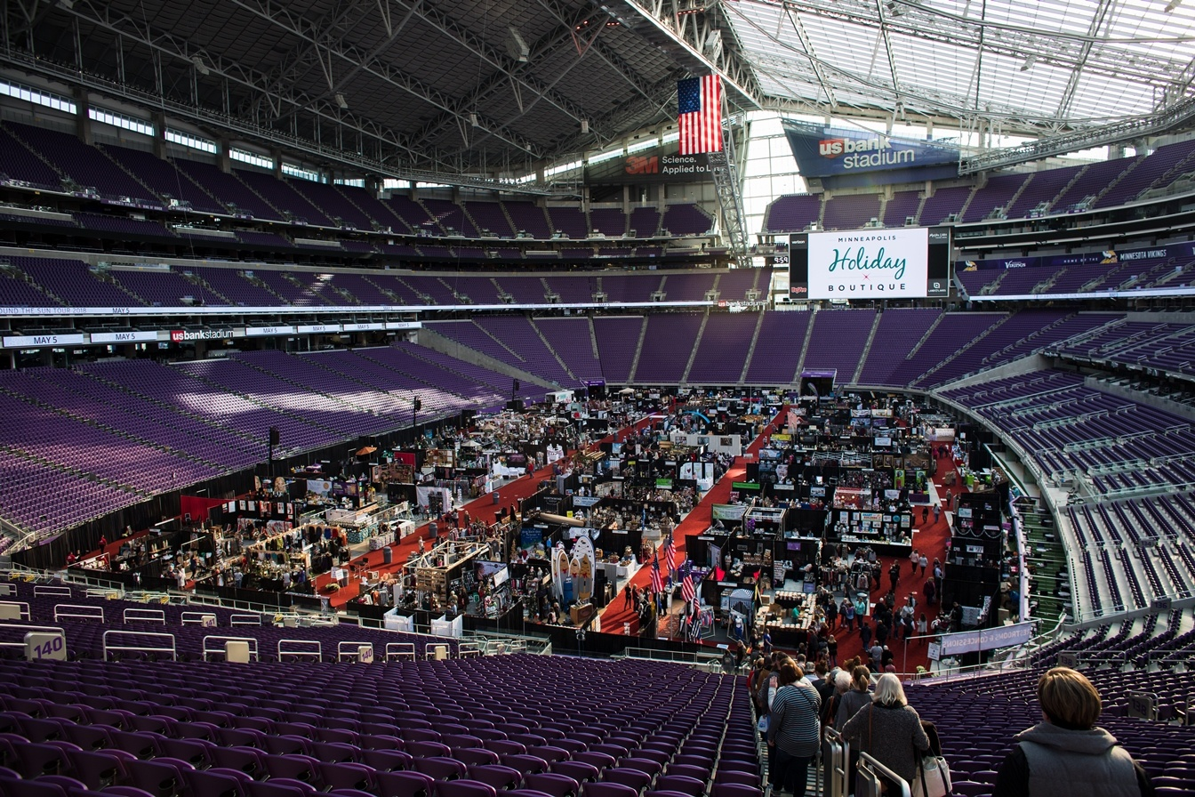 Minneapolis Holiday Boutique at US Bank Stadium