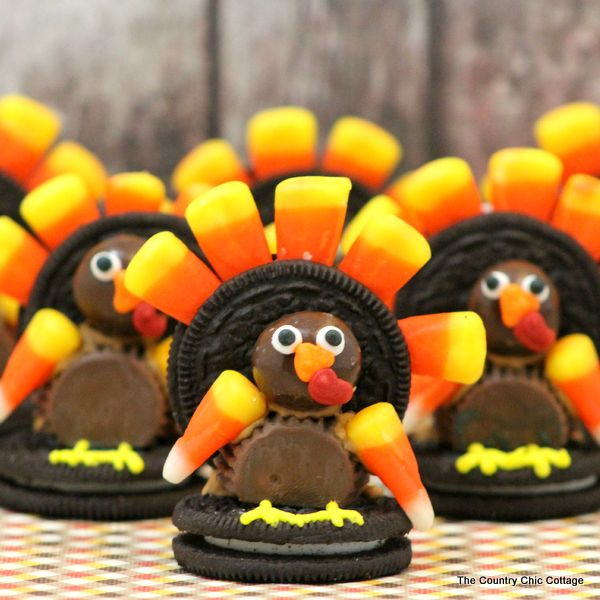 Easy Turkey Desserts for Thanksgiving