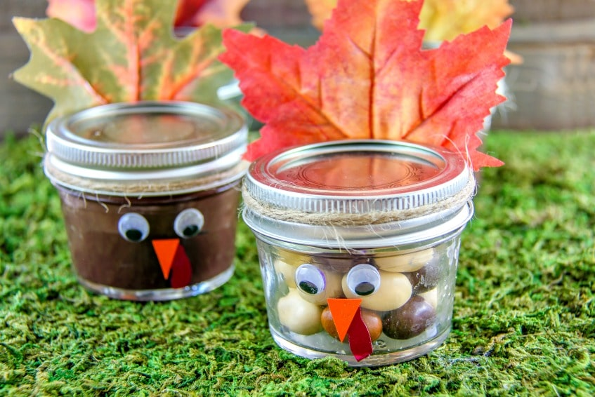 Turkey in a Jar Thanksgiving treat