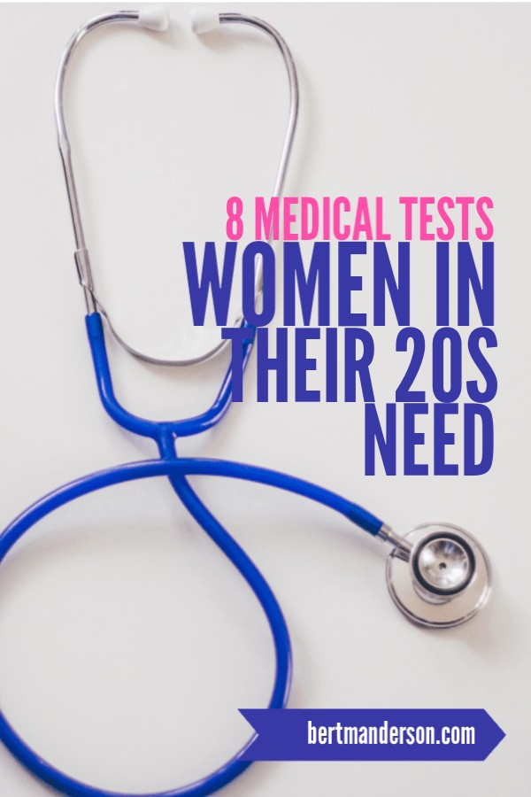 8 Medical Tests Women should do in their 20s. #womenshealth #youngadult #women #health
