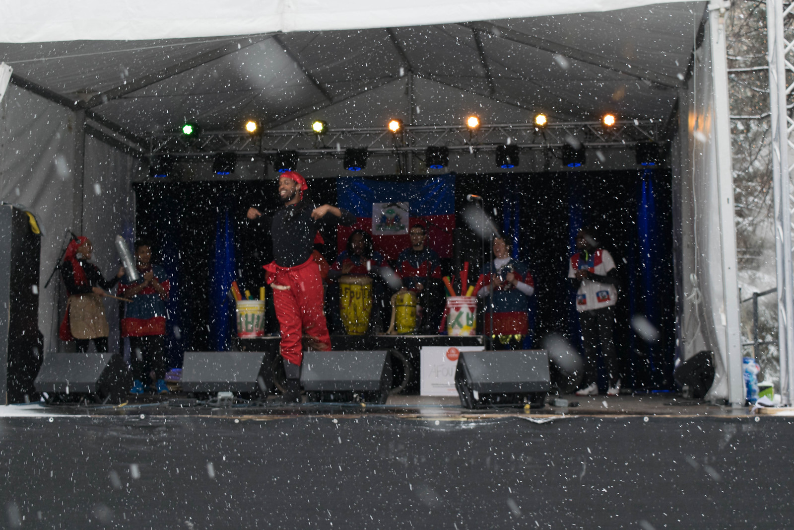 Live music at St. Paul Winter Carnival