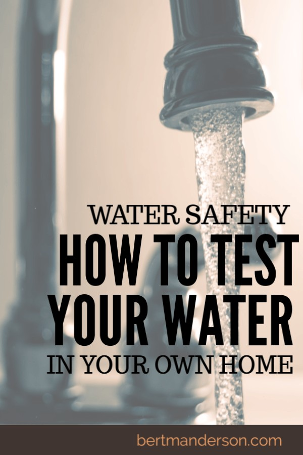 How to test the safety of your water at home. In-home DIY water safety test kits are so easy to use.